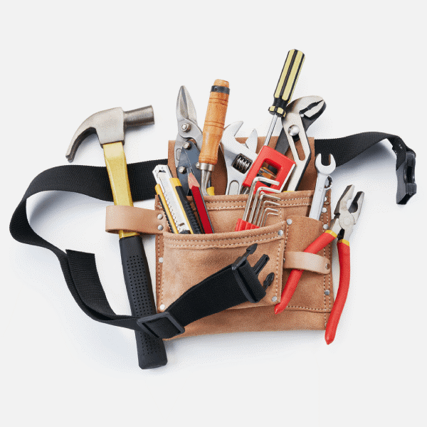 Tool Belts: Work & pray for the city